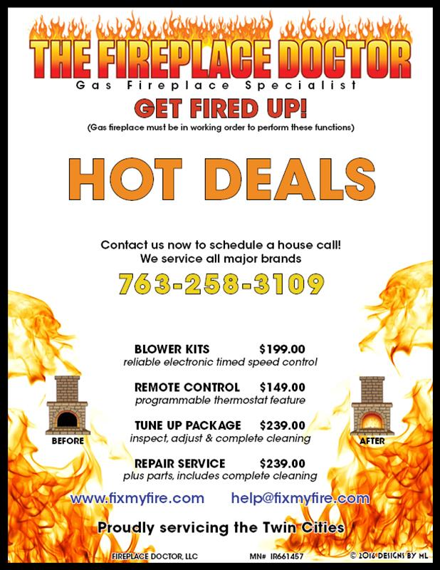 Gas Fireplace Repair   Minneapolis & St Paul, Minnesota (MN) (763 ...